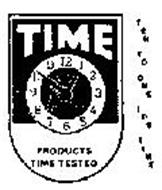 TIME PRODUCTS TIME TESTED