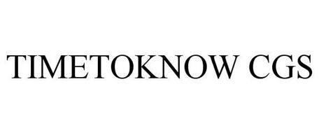 TIMETOKNOW CGS