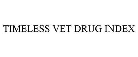 TIMELESS VET DRUG INDEX