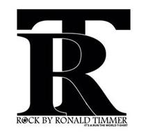 RT ROCK BY RONALD TIMMER IT'S A RUN THEWORLD T-SHIRT
