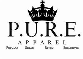 P.U.R.E. APPAREL, POPULAR URBAN RETRO EXCLUSIVES