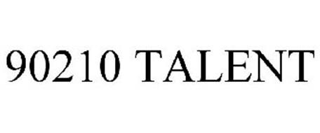 90210 TALENT Trademark of Timothy Hall Serial Number