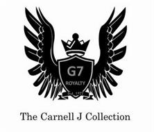 THE CARNELL J COLLECTION G7 ROYALTY EST 1977