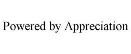POWERED BY APPRECIATION