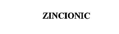 ZINCIONIC