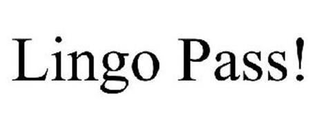 LINGO PASS!