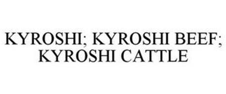 KRYOSHI; KRYOSHI BEEF; KRYOSHI CATTLE