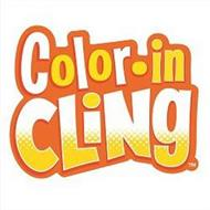 COLOR-IN CLING