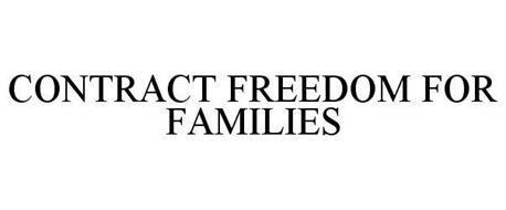 CONTRACT FREEDOM FOR FAMILIES