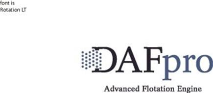 DAFPRO ADVANCED FLOTATION ENGINE