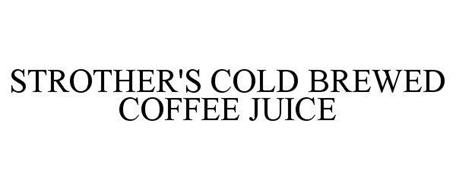 STROTHER'S BREWED COLD COFFEE JUICE