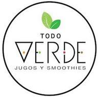 TODO VERDE JUGOS Y SMOOTHIES