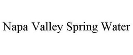 NAPA VALLEY SPRING WATER