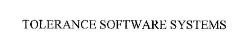 TOLERANCE SOFTWARE SYSTEMS
