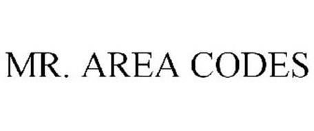 MR. AREA CODES