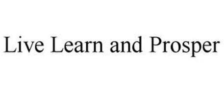 LIVE LEARN & PROSPER