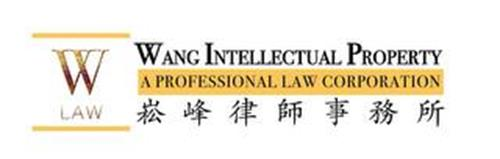 W LAW WANG INTELLECTUAL PROPERTY A PROFESSIONAL LAW CORPORATION