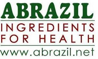 ABRAZIL INGREDIENTS FOR HEALTH WWW.ABRAZIL.NET