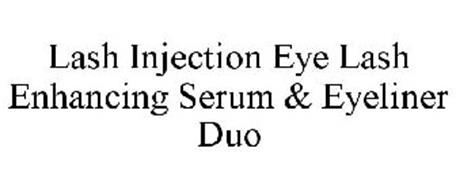 LASH INJECTION EYE LASH ENHANCING SERUM & EYELINER DUO