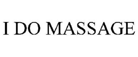 I DO MASSAGE