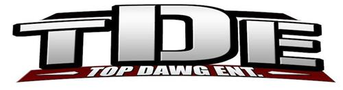 TDE TOP DAWG ENT. Trademark of Top Dawg Entertainment LLC ...