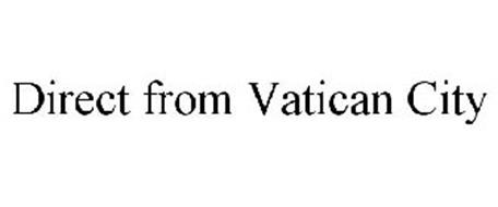 DIRECT FROM VATICAN CITY
