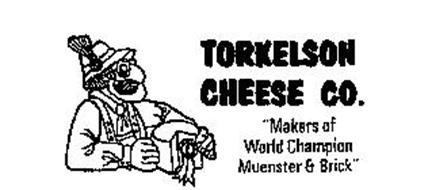 """TORKELSON CHEESE CO. """"MAKERS OF WORLD CHAMPION MUENSTER & BRICK"""""""