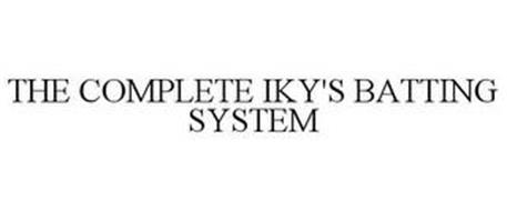THE COMPLETE IKY'S BATTING SYSTEM