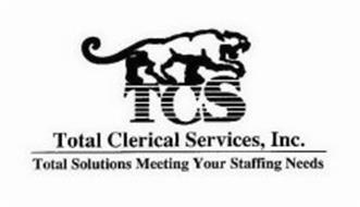 TCS TOTAL CLERICAL SERVICES, INC. TOTAL SOLUTIONS MEETING YOUR STAFFING NEEDS
