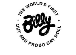 BILLY THE WORLD'S FIRST OUT AND PROUD GAY DOLL