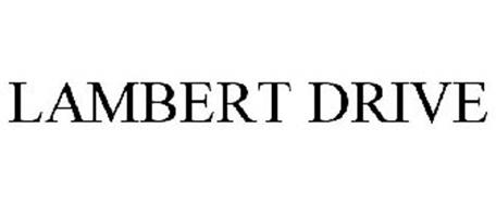 LAMBERT DRIVE