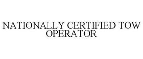 NATIONALLY CERTIFIED TOW OPERATOR