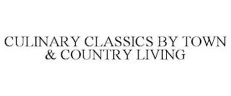 CULINARY CLASSICS BY TOWN & COUNTRY LIVING