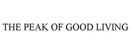 THE PEAK OF GOOD LIVING