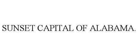 SUNSET CAPITAL OF ALABAMA.