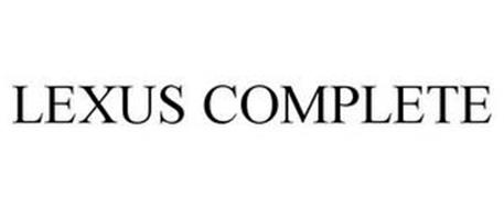 LEXUS COMPLETE