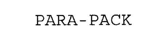 PARA-PACK