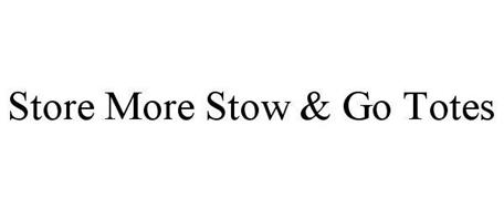 STORE MORE STOW & GO TOTES