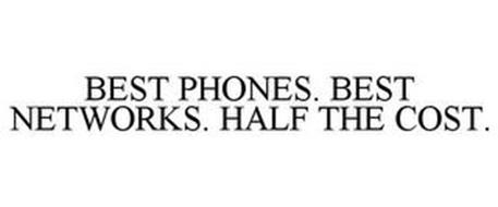 BEST PHONES. BEST NETWORKS. HALF THE COST.