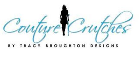 COUTURE CRUTCHES BY TRACY BROUGHTON DESIGNS