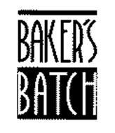 BAKER'S BATCH