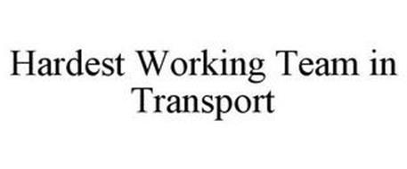 HARDEST WORKING TEAM IN TRANSPORT