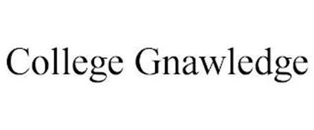 COLLEGE GNAWLEDGE