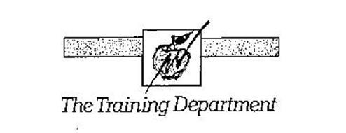 THE TRAINING DEPARTMENT