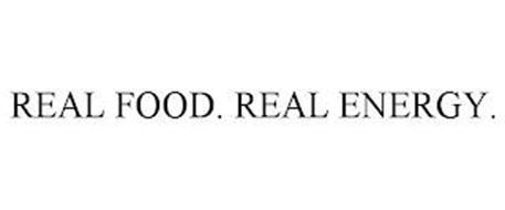 REAL FOOD. REAL ENERGY.