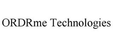 ORDRME TECHNOLOGIES