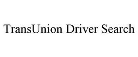 TRANSUNION DRIVER SEARCH