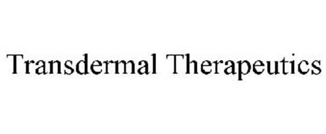 TRANSDERMAL THERAPEUTICS