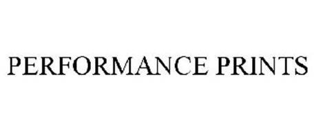 PERFORMANCE PRINTS