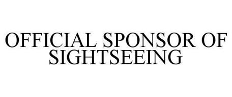 OFFICIAL SPONSOR OF SIGHTSEEING